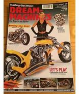 Harley Davidson Dream Machines 2002 German Import Magazine RARE Custom B... - $12.85