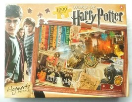 World of Harry Potter: HOGWARTS 1000 Piece Puzzle: Brand New & Sealed - $13.08