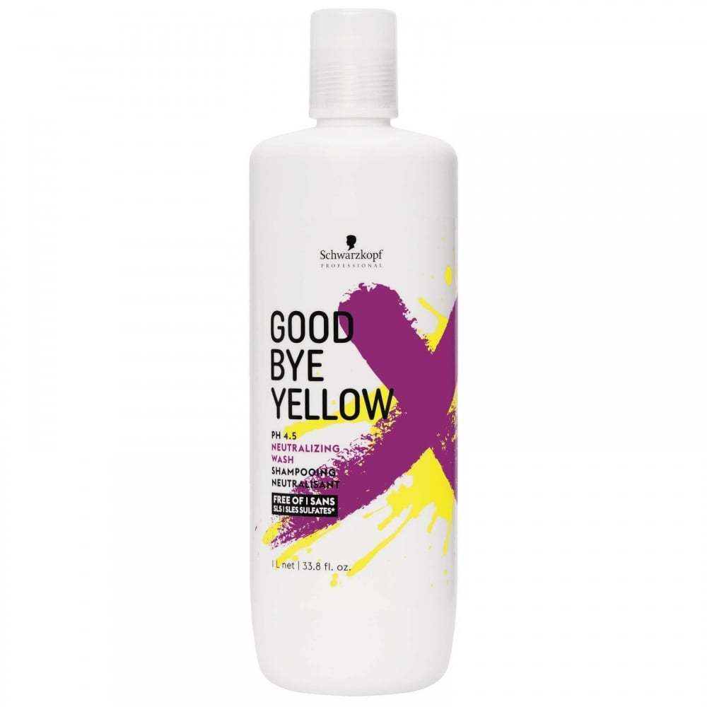 Schwarzkopf Professional Goodbye Yellow Shampoo  33.8oz