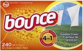 Bounce Fabric Softener-Sheet 240 Count Fabric Softener - $13.32
