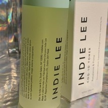 New In Box FULL SIZE Indie Lee COQ-10 Toner CLEAN BEAUTY 4.2 Oz. All Natural image 2