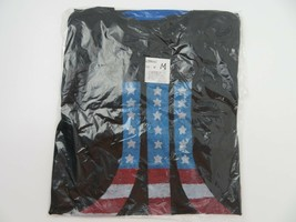 Atari American Flag Stars and Stripes Video Games T-Shirt Size M New Sealed - $11.12