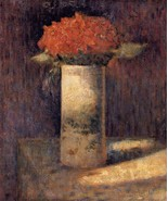Boquet in a Vase 1878-9 - 40x50 inch Canvas Wall Art Home Decor - $159.00