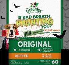NEW Greenies Halloween Petite Dental Dog Treats, 60 count 36oz FREE SHIP... - $20.65