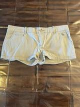 Abercrombie & Fitch Tan Casual Shorts Women's Juniors SIze 4 EUC - $12.86