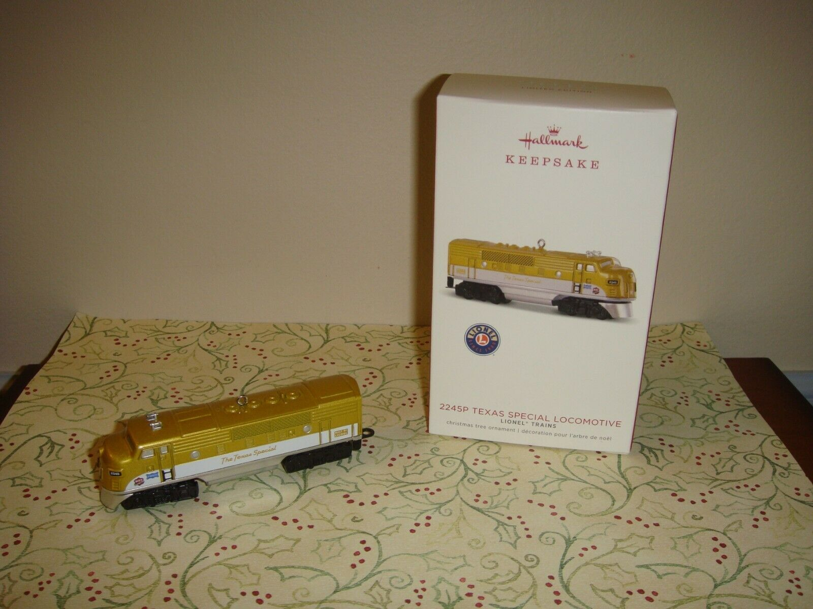Primary image for Hallmark 2018 2245P Texas Special Locomotive Lionel Train Limited Ed Ornament