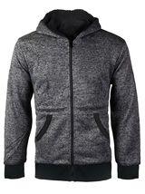 Boys Kids Toddler Athletic Soft Sherpa Lined Fleece Zip Up Hoodie Sweater Jacket image 6