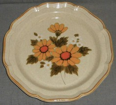 1970s-80s Mikasa SUNNY SIDE PATTERN Platter or Chop Plate MADE IN JAPAN - $19.79