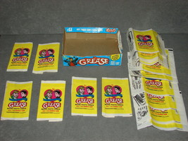 Grease 1978 Topps Trading Card Display Wax Box w/ 17 Wrappers [Empty] - $19.00