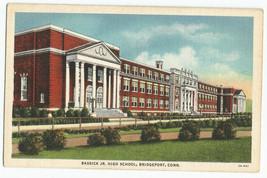 Bridgeport Bassick Jr High School Connecticut Vintage 1935 Postcard - $5.95