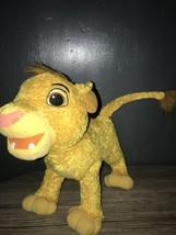2003 Hasbro Disney The Lion King - My Singin Simba - Soft Plush Toy Interactive - $25.01
