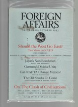 Foreign Affairs - September / October 1993 - NATO, Japan, Germany, NAFTA... - $9.79