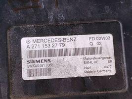 03 Mercedes W203 C240 ECU Engine Computer EIS Ignition FOB ISL Set A1121532979 image 7