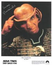 Max Grodenchik Star Trek Deep Space 9 Rom Autograph #4 - $19.34