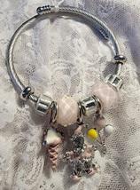 Adjustable Euro Style Circus Charm Bracelet - $10.00
