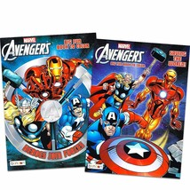 Marvel Mighty AvengersColoring and Activity Book Set (2 Books ~ 96 pgs each) - $9.99