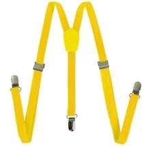 Suspenders - Solid Color Y-Back Suspenders Adjustable Elastic Shoulder S... - $11.39