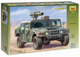 Zvezda 3575 American anti-tank complex TOU on the vehicle Hummer 1/35 - $99.00