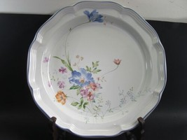 "Mikasa French Countryside Blue Bouquet 12"" Round Chop Plate Platter  - $17.94"