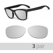 3 Pair Optico Replacement Polarized Lenses for Oakley Frogskin Sunglasses Mirror - $20.99