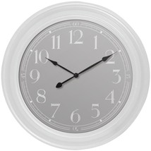 Westclox 33095W 22 White Wall Clock - $45.95
