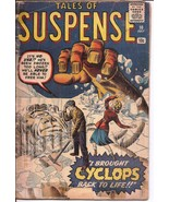 Atlas/Marvel Tales Of Suspense #10 I Brought The Cyclops Back To Life Ni... - $149.95