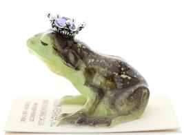 Hagen-Renaker Miniature Frog Prince Kissing Birthstone 06 June Alexandrite image 4