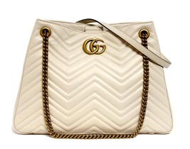 New Gucci GG Marmont Matelassé Leather Shoulder Bag Tote - $1,958.04