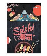 [Sushi-1] Japanese Noren Curtain Kitchen Door Curtains Door Curtain Deco... - $39.11