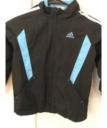 Ragazzi Bambini Nero Adidas Sport Giacca a Vento Maglione 4t Atletico Wind - $18.77