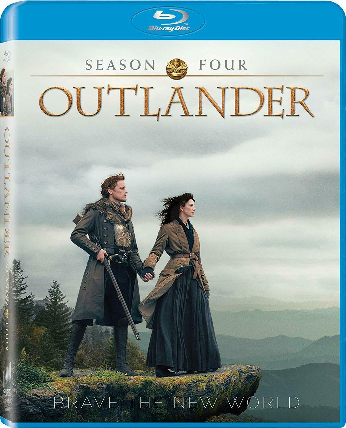Outlander Season 4 Blu-ray