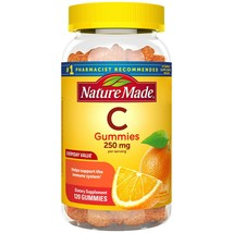Nature Made Vitamin C Gummies 250 mg, 120 Count - $9.44