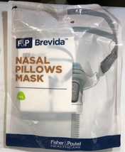 M-L Fisher Paykel Brevida Nasal Cpap Mask System BRE1MA with Headgear  - $82.95