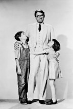 Gregory Peck Mary Badham Phillip Alford in To Kill a Mockingbird 18x24 Poster - $23.99