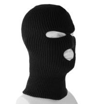 3 Hole Full Face Ski Mask Winter Beanie Balaclava Hood Tactical Snow Hat Cap Lot image 2