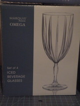 Waterford Set Of 4 Iced Beverage Glasses New In Box $100 Value Made In Germany - $50.00