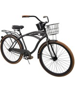 "Men's Beach Cruiser Bike 26"" Perfect Fit Steel Frame Comfort Ride, Charcoal - $254.75"