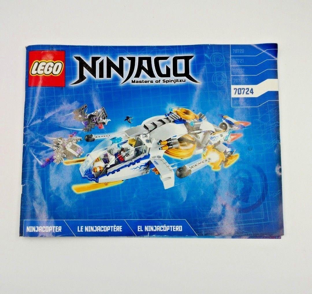 Lego Ninjago 70724 Instruction Manual Only And 50 Similar Items