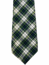 American Eagle Outfitters Plaid 100% Cotton Flannel Necktie Tie Made in USA - $6.93