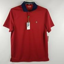 IZOD Men Performance Golf Polish Red Short Sleeve Polo Shirt Size Large ... - $39.95