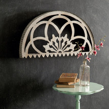 Metal Cutout Arched over the Door Topper or Wall Hanging - $58.00