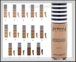 Pretty by Flormar Weightless Foundation 30 ml Lightweight Texture SPF 15 - $10.44