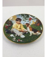 """Danbury Mint """"Wednesday's Child"""" Children of the Week Collector Plate - $13.09"""