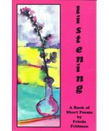 Listening: A Book of Short Poems - $14.85