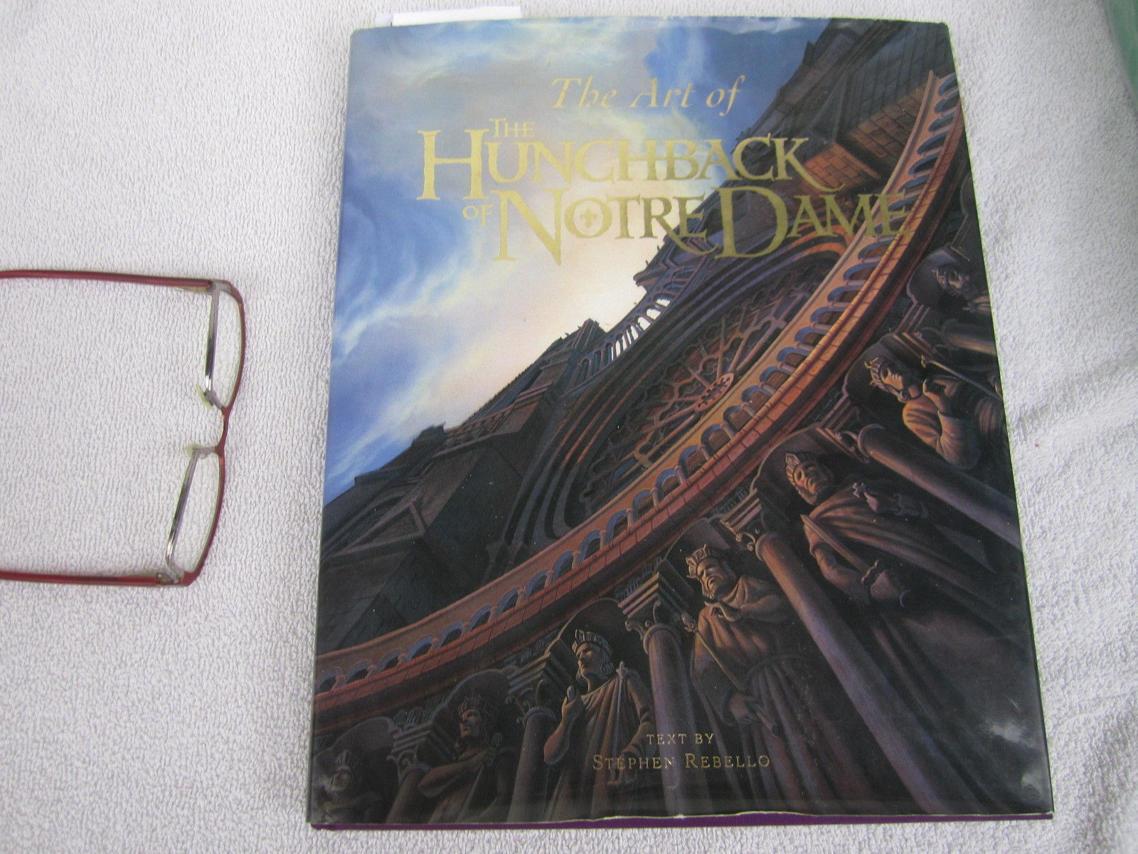Walt Disney Hunchback of Notre Dame Art of the Signed Multiple Autographs 1996