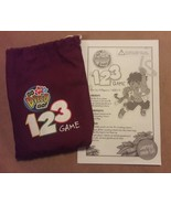 GO DIEGO GO 123 Game replacement pieces 40 COUNTING TOKENS w/ BAG & INST... - $7.69