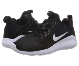 Nike Women's Kaishi 2.0 Sneakers Black/White Size 6 - $59.39