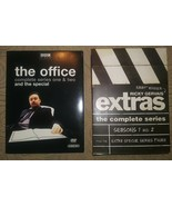DVD Lot The Office 1 2 Special + Extras The Complete Series Ricky Gervai... - $17.81