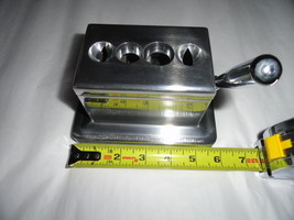 cigar cutter for tabletop in stainless steel cuts four different types BNIB - $75.00