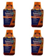 Lot of 4 Theraflu Expressmax Cold & Sever Cough~Daytime~Berry Flavor~Exp... - $28.04